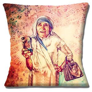 """NEW MOTHER TERESA FAB CIRAOLO MODERN ART DESIGN MOBILE 16/"""" Pillow Cushion Cover"""