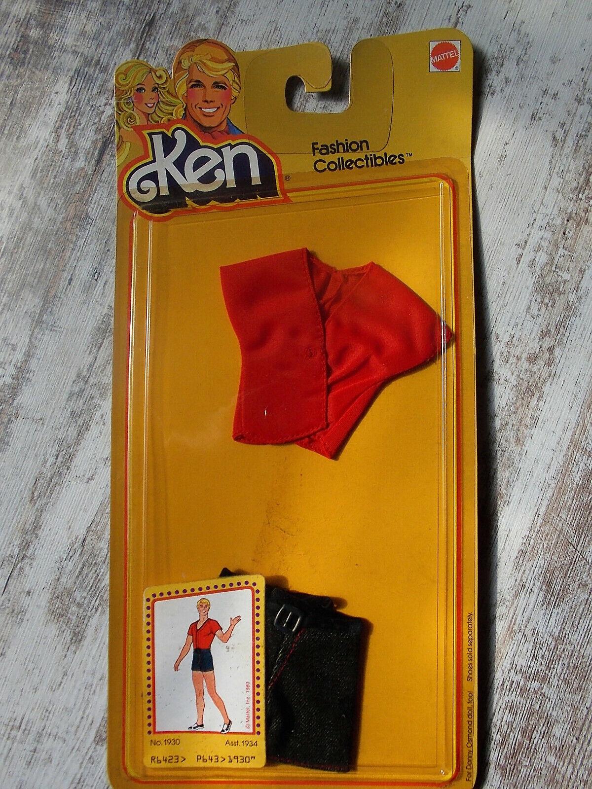 Vintage - Ken Fashion Figurine - Mattel Completo Abbigliamento 1978