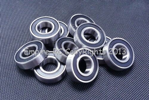 S6003-2RS 440c Stainless Steel Rubber Sealed Ball Bearings 10 PC 17x35x10 mm