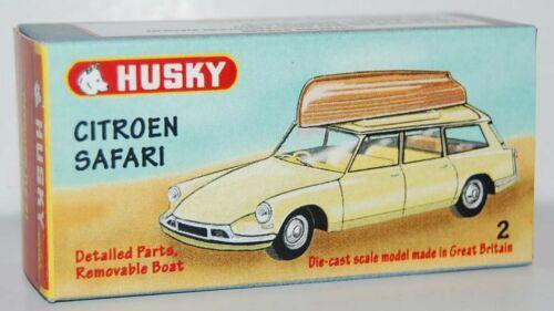 Finestra di visualizzazione personalizzato per HUSKY 1960s #02 CITROEN Safari-GRATIS UK POST