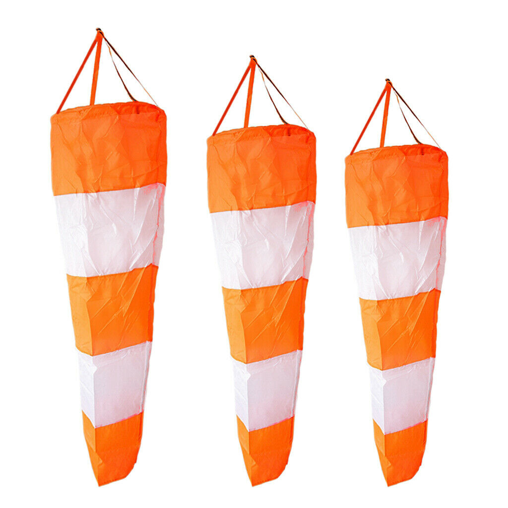 Windsock Stop Anemometer Bag for Outdoor Use with Reflective Belt