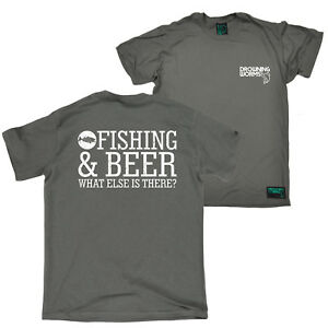 e5ee61d6a FB Fishing Tee - Fish And Beer - Novelty Birthday Christmas Gift ...