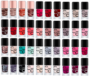 Details about Catrice ICONails Gel Nail Lacquer NEW Colors!