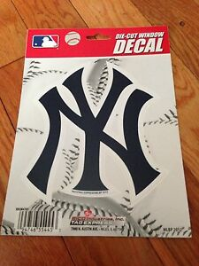 MLB-NEW-YORK-YANKEES-Vinyl-Decal-Sticker-For-Indoor-or-Outdoor