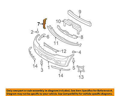 for Kia Sorento KI1067105 2007 to 2009 New Bumper Bracket Front, RH Side