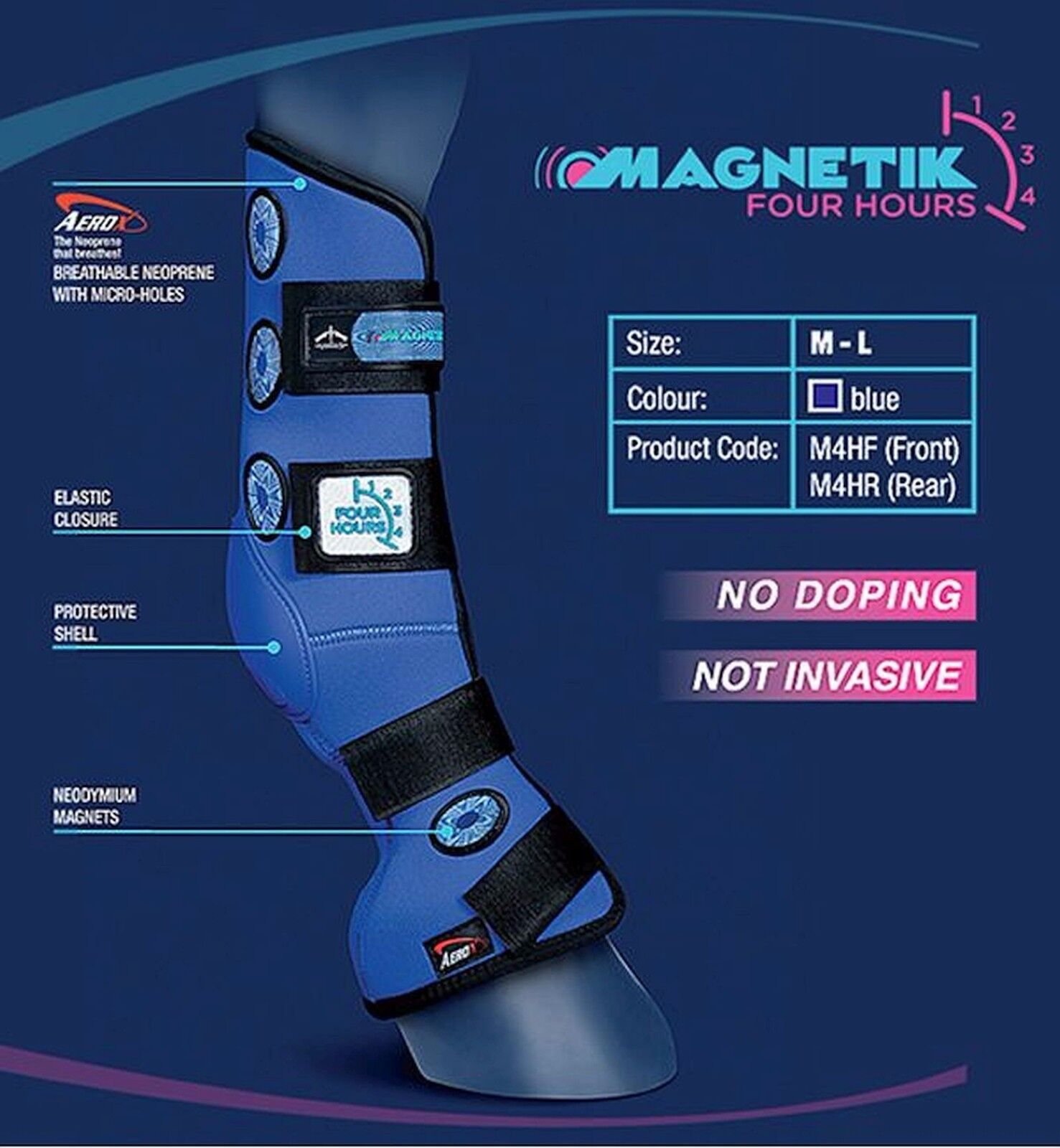 VEROTUS 4 HOUR Intensive Magnetic Therapy Stiefel M/L, REAR M/L, Stiefel FREE NEXT-DAY DELIVERY c25a2c
