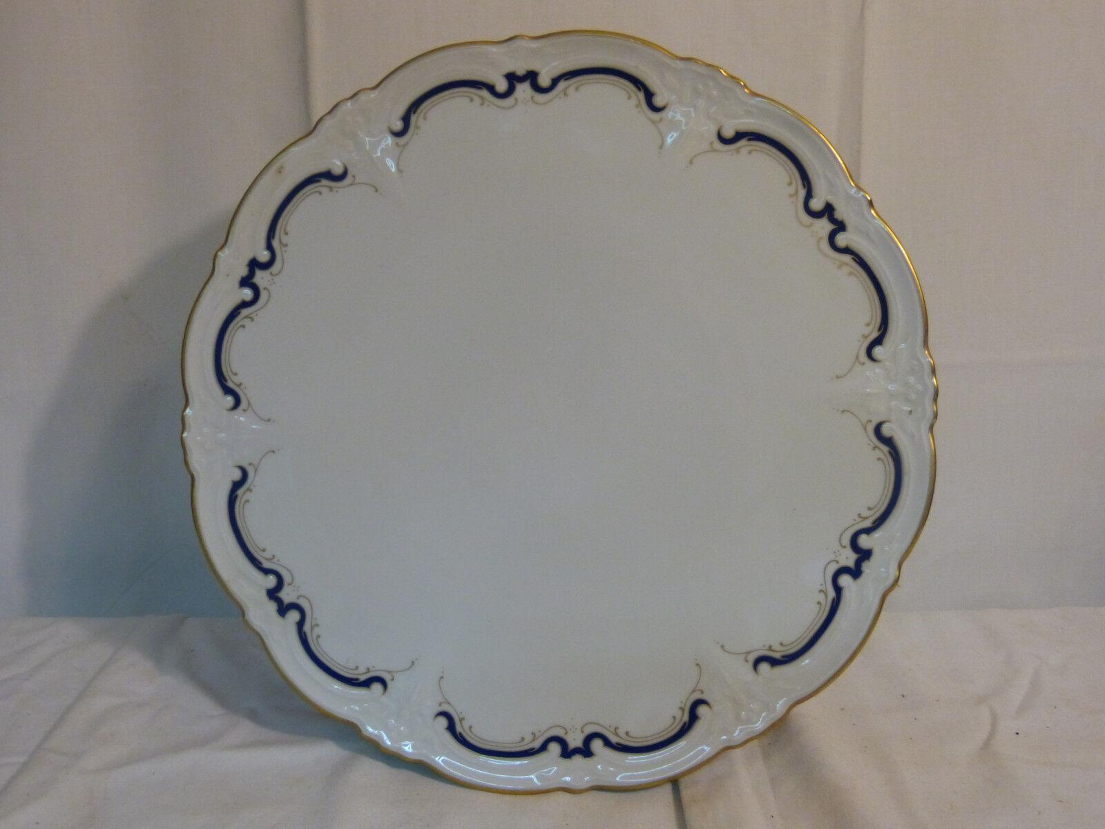 Hutschenreuther   Tirschenreuther Baronesse Baronesse Baronesse Gloriette Tortenplatte Cobaltblau     | Moderner Modus  1361aa