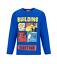 Ragazzi Bambini con licenza ufficiale BOB THE BUILDER Manica Lunga T Tee Shirt Top