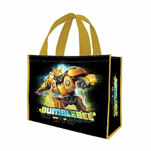 Transformers NEW Licensed Shoppig Bag 16x12x6 Bumblebee Large Recycled Tote