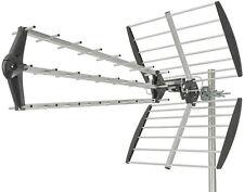 EXTRA high gain TV antenna aerial TRIPLE BOOM camper caravan motorhome 40 elemen