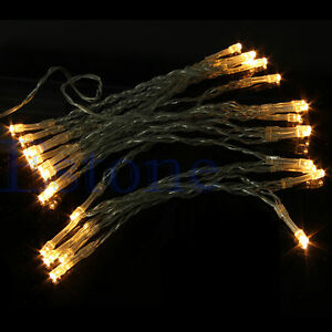 Perfect Holiday String Lights : Perfect Holiday 3M AA Battery Operated Warm White 30 LED String Light Fairy eBay