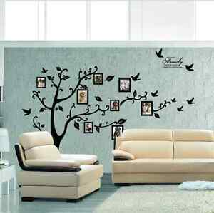 Image Is Loading Huge Black Tree Photo Frame Wall Art Wall