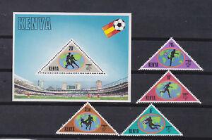 Details about kenya 1982 world cup,Sc 225/9 set MNH l1271