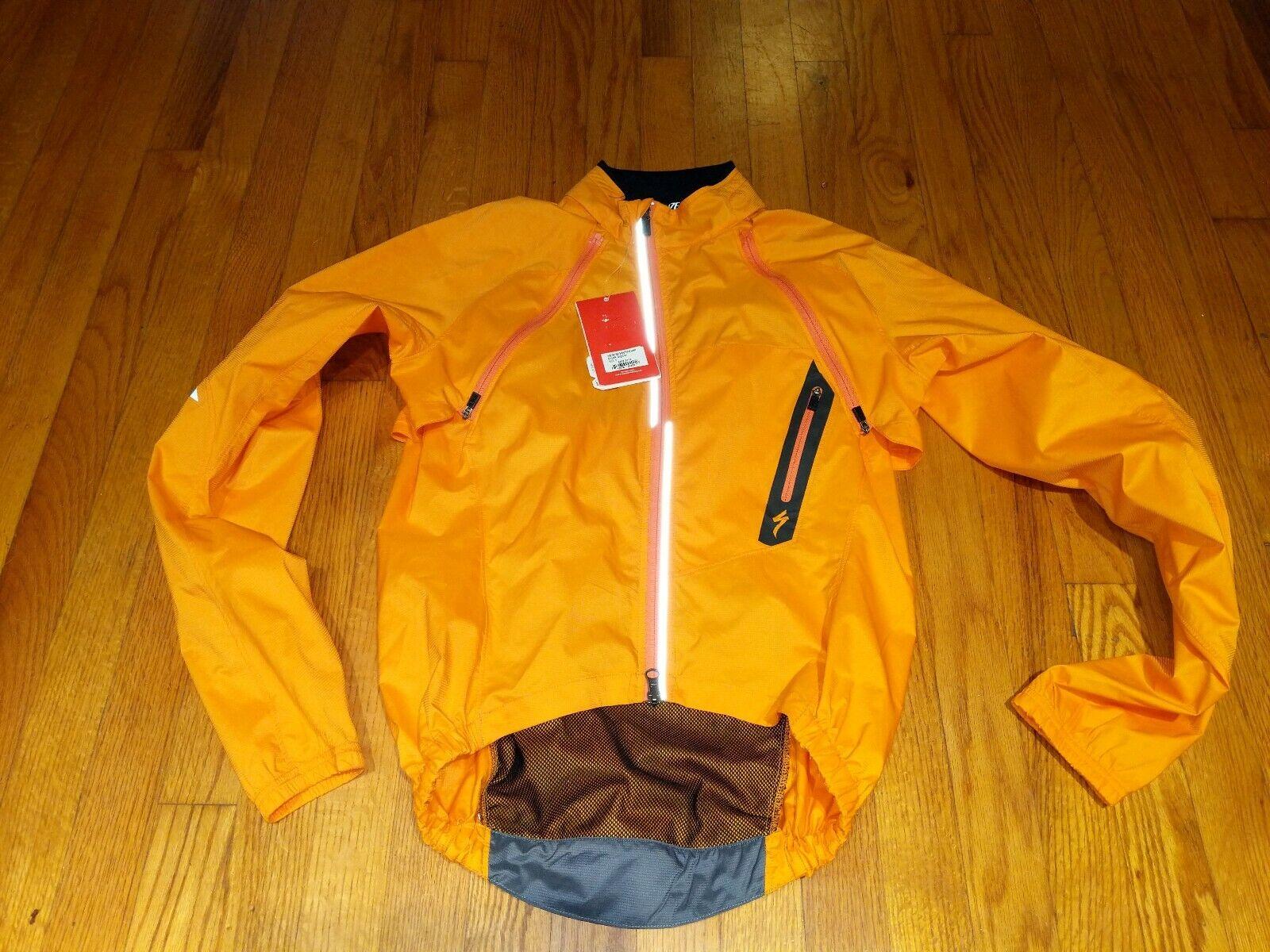 Giacca ibrida specialeeized Deflect NUOVO con etichette, taglia  Smtutti, Coloreeee  Arancione