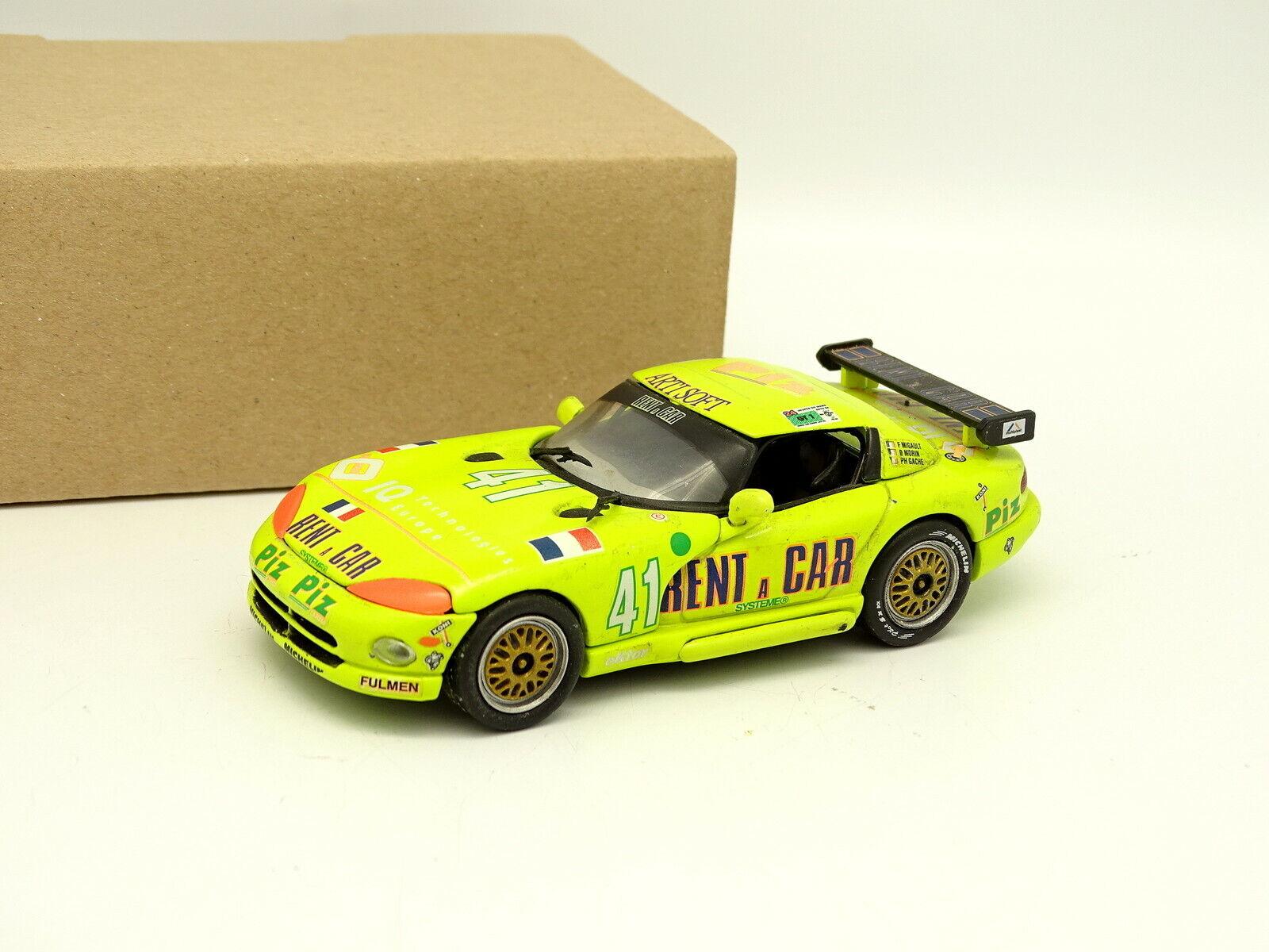 Universal Hobbies Uh Sb 1 43 - - - Dodge Viper Rent A Car Nr. 41 Le Mans 1994 b3c5ba