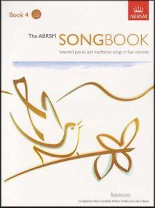 Le Abrsm Répertoire 4 Musique Vocale Livre/2cds Sélectionné Pieces & Chants Traditionnels-afficher Le Titre D'origine