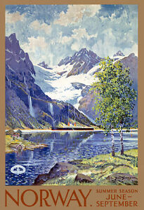 TT43-Vintage-Norway-Norwegian-Travel-Poster-Print-A3-17-034-x12-034-Re-Print