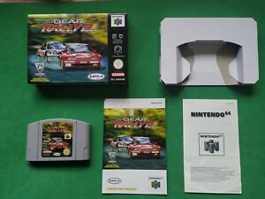 Top Gear Rally 2 NINTENDO 64 N64 BUEN ESTADO RARE PAL ORIGINAL!!!!