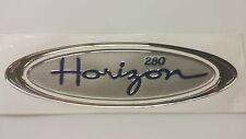 PAIR FOUR WINNS HORIZON 280 GOLD SILVER BLUE FOAM RAISED BOAT DECAL BOAT VISTA