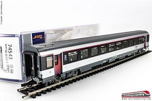 ROCO-74543-H0-1-87-Carrozza-SNCF-034-Corail-034-2-cl-tipo-B11tu-Ep-VI
