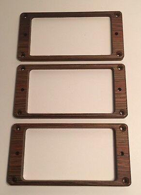Recessed Holes Tapered Guilford Indian Rosewood  pickup ring set PRS guitar
