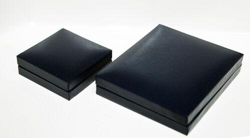 9ct Oro Blanco Topacio Azul Oval Pendientes en Caja De Regalo Hecho en Reino Unido
