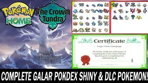 Pokemon-Sword-and-Shield-Home-Full-Galar-Pokedex-amp-Crown-Tundra-ULTRA-SHINY