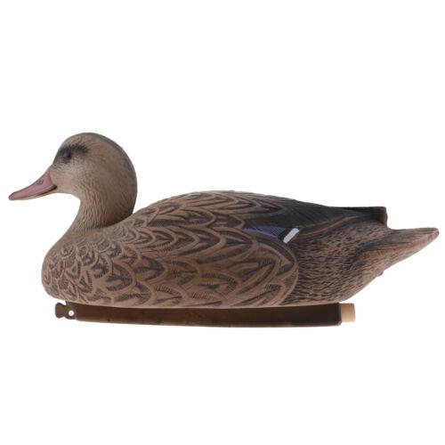 Realistic Floating 37cm Female Duck Ornament Decoy Garden Scarer Repeller #5