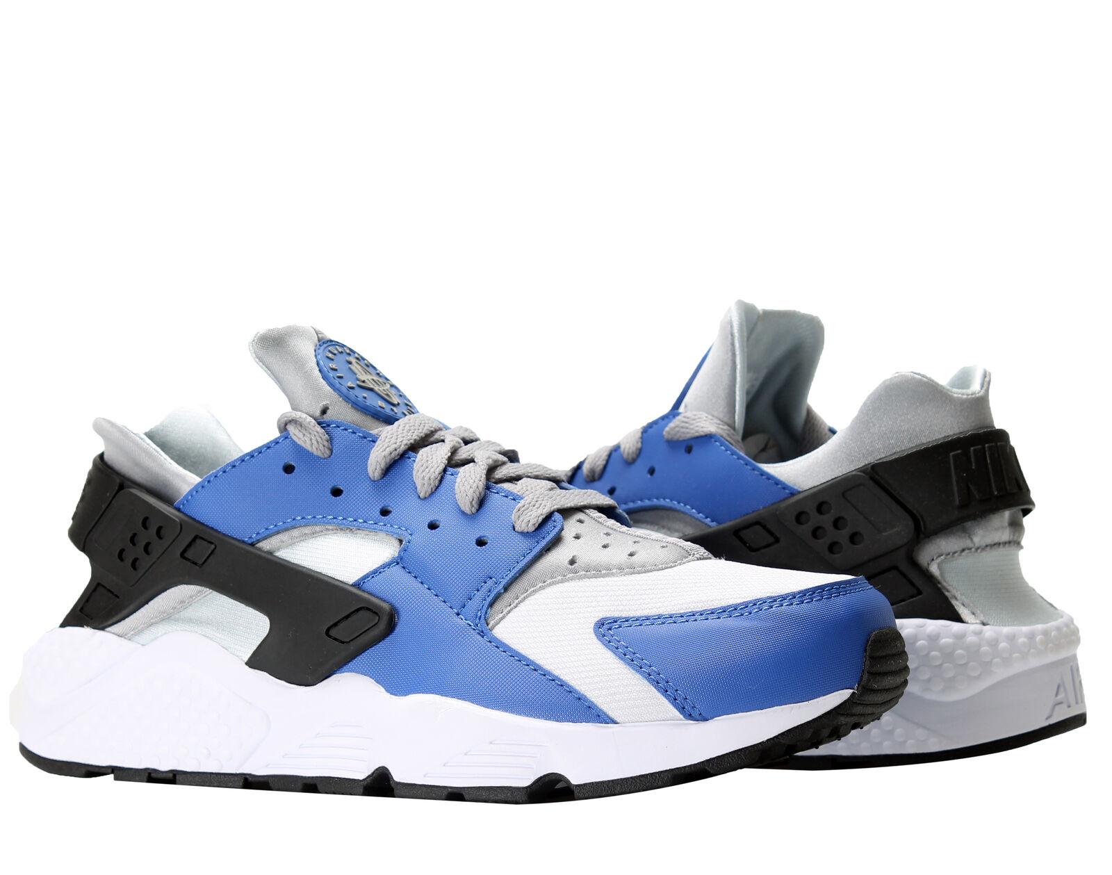 Nike Air Huarache Running Comet Blue/Matte Silver Men's Running Huarache Shoes 318429-406 1a8cd9