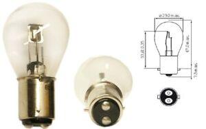 ampoule 6v 35 35w bax15d moto auto voiture mobylette scooter lampe 2 filaments ebay. Black Bedroom Furniture Sets. Home Design Ideas