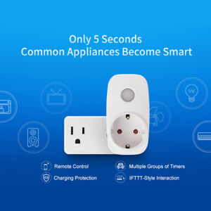 Broadlink-Sp3-P3S-Timer-Wifi-Socket-Outlet-Smart-Remote-Wireless-Controls