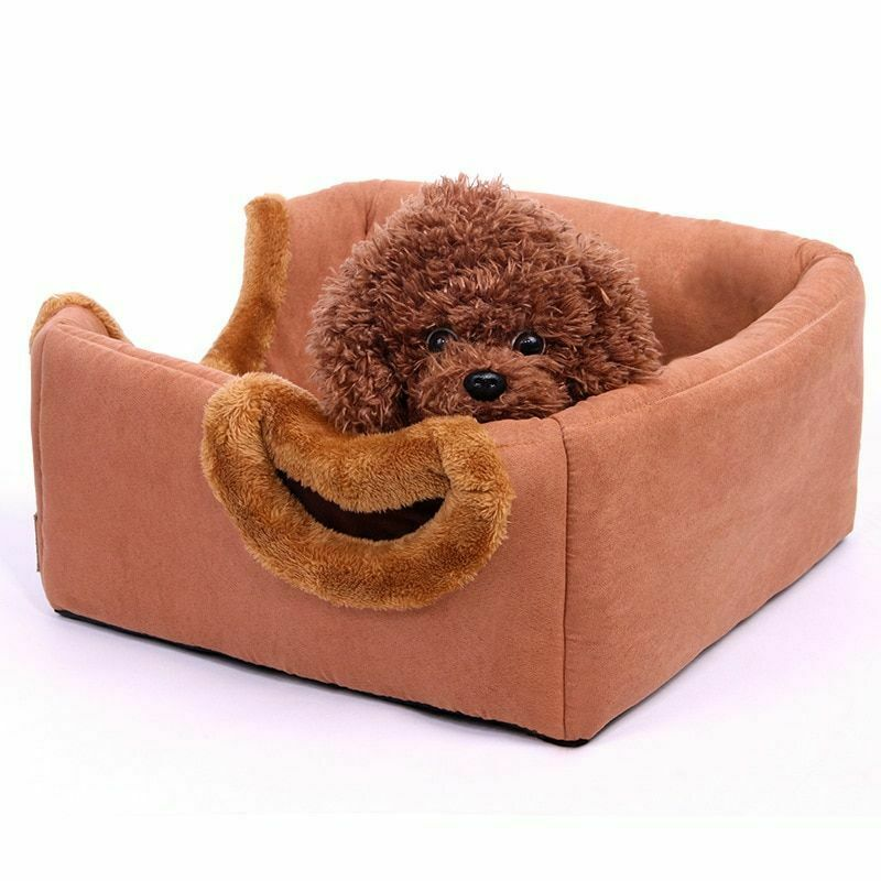 Fashion Pet Bed Multifunction Soft Dog Puppy Kennel Cat House Kitten Cushion Mat