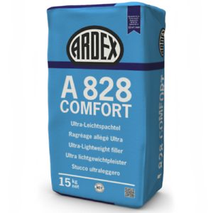 (2,45€/kg) ARDEX A828 Comfort 15kg Wand- & Deckenspachtel Ultra-Leichtsp. Q1-Q4