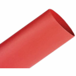 6.4mm I.D Black 75mtrs Heat Shrink Tubing HSP1 Flame Retardant 12.7mm I.D