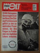 FREIE WELT 24 1977 Kreuzer Aurora Sotschi Hetzkampangne der USA Riga