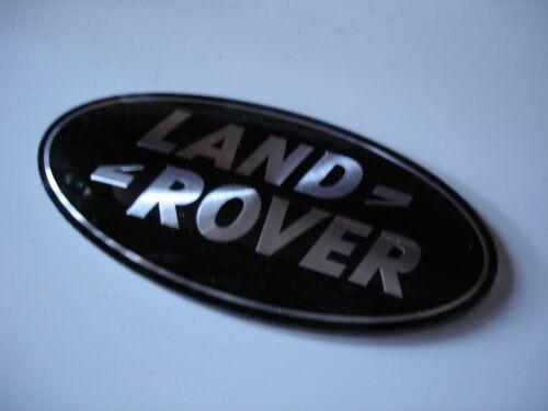 Front Grille Badge in Black Genuine Range Rover DAG500160
