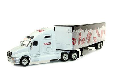 Truck Trailer Coca Cola Coke on Ice Long Hauler 1/64 By Motor City 434618