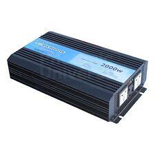 2000W (picco 4000 W) Onda Sinusoidale Pura Potenza Inverter BATTERIA 24V a 240V 2000 WATT
