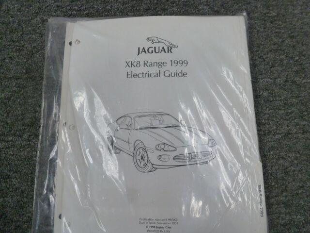 1999 Jaguar Xk8 Coupe Convertible Electrical Wiring