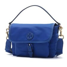 NWT❤️Authentic TORY BURCH Scout Nylon Crossbody Bag Jewel Royal Blue FREE SHIP