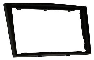 Adaptateur-autoradio-facade-cadre-2DIN-noir-pour-Opel-Astra-H-Antara-Tigra