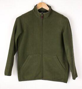 L.L.Bean Damen Reißverschluss Fleece Pullover Größe L (14/16) ATZ265