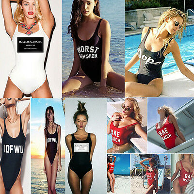New Sexy Women's One Piece Monokini Bikini Swimwear Beachwear Bathing Suit