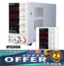 Wanptek Nps306w Variable Lab Dc Bench Power Supply Adjustable 0v 30v 0a 6a 110v