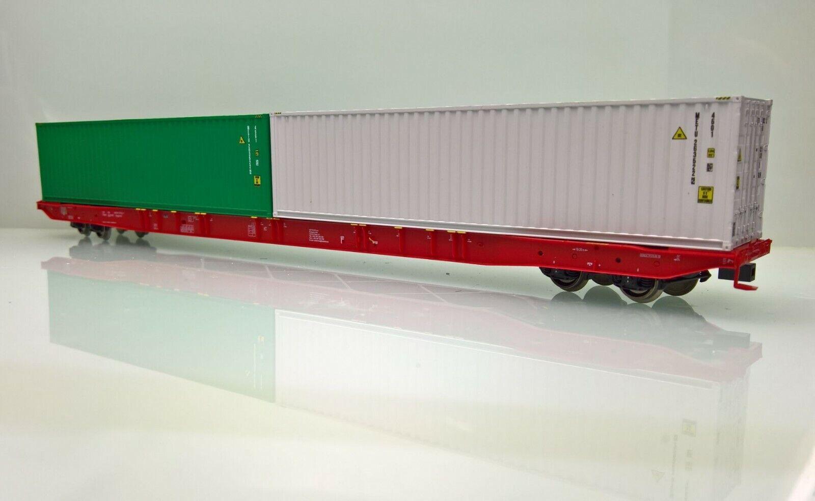 Igra modellolo 96010002 container autorello portante sggnss 80' CZMT Metrans EP. vi NUOVO OVP