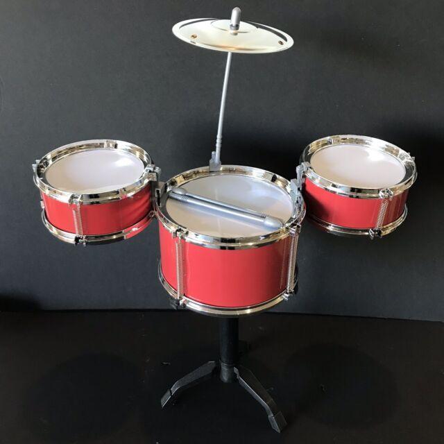 Red Office gift Desktop Drum Set