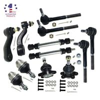Brand 12pcs Front Suspension Kit For Chevy Gmc Trucks 4x4 4wd