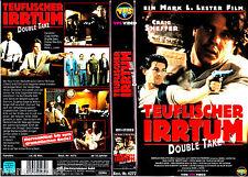 """VHS - """" Teuflischer IRRTUM ( Double Take ) """" (1998) - Craig Sheffer - VPS"""