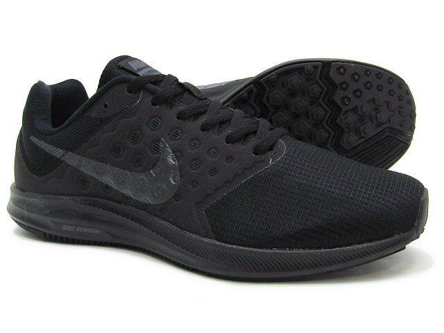 NEW Nike Shoes Downshifter 7 Men's Size Black Black Running Shoes Nike 852459001 Triple Bla 1c5ded