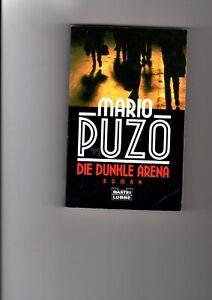 Mario Puzo - Die dunkle Arena - Thriller - Schmuggel - Korruption - Mafia - Schwerin, Deutschland - Mario Puzo - Die dunkle Arena - Thriller - Schmuggel - Korruption - Mafia - Schwerin, Deutschland